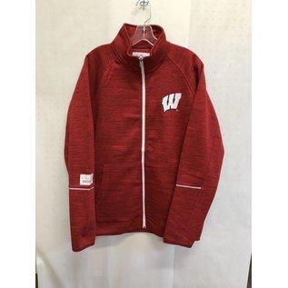 G III Wisconsin Badgers Men's Full Zip Track Jacket