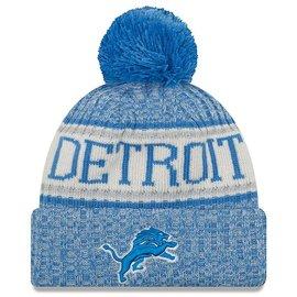 Detroit Lions 2018 Sideline Knit Hat