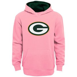 Green Bay Packers Youth Pink Hoodie