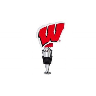 Evergreen Enterprises Wisconsin Badgers Logo Bottle Stopper