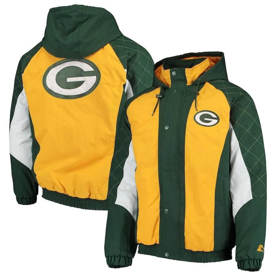 Green Bay Packers Men's Heavy Hitter Winter Jacket