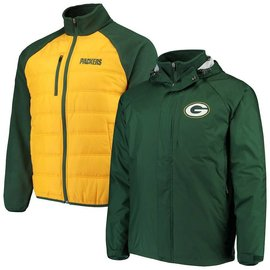 G III Green Bay Packers Men's Reinforce 3 in 1 Jacket