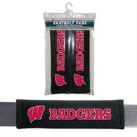 Fremont Die Wisconsin Badgers Seat Belt Pads