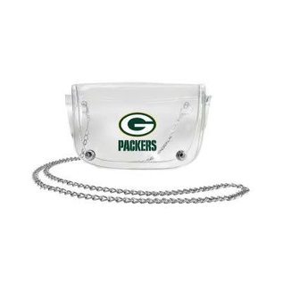 Little Earth Green Bay Packers Clear Waist Pack