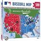 MLB Map Puzzle