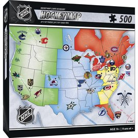 NHL Map Puzzle