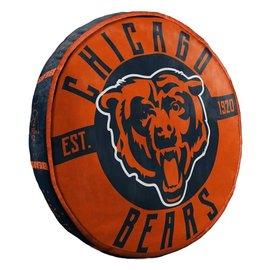 Chicago Bears Logo Cloud Pillow