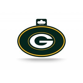 Green Bay Packers Full Color Oval Sticker