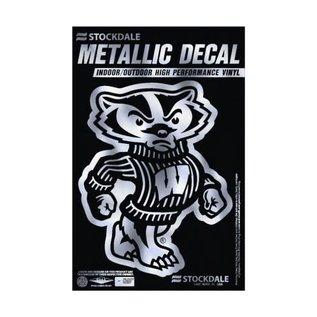 WinCraft, Inc. Wisconsin Badgers Metallic Bucky Window Decal