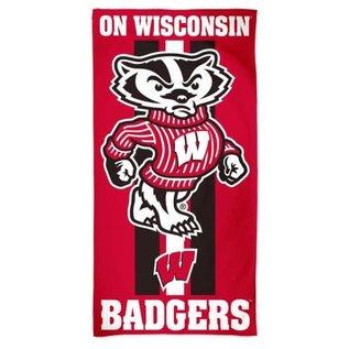 WinCraft, Inc. Wisconsin Badgers Beach Towel