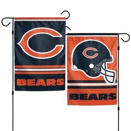 Chicago Bears 2 Sided Garden Flag