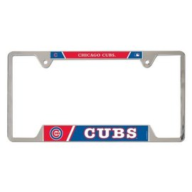 WinCraft, Inc. Chicago Cubs Metal License Plate Frame