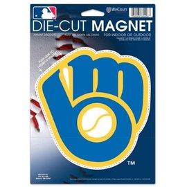 Milwaukee Brewers Diecut Magnet