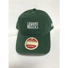 Milwaukee Bucks 9-20 Classic Team Front Adjustable Hat