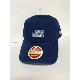 Milwaukee Brewers 9-20 Classic Team Front Adjustable Hat