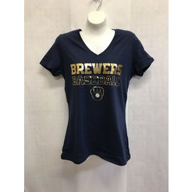 Milwaukee Brewers Women's Matchless Vision Short Sleeve Tee