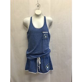 Milwaukee Brewers Women's Squad Tank Top and Short Set