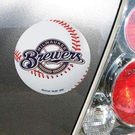 WinCraft, Inc. Brewers DieCut Baseball Magnet