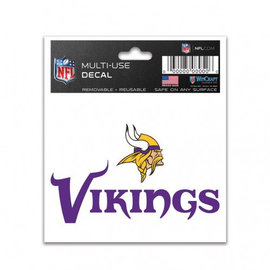 Minnesota Vikings Multi Use Decal 3x4