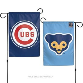 Chicago Cubs Two Sided Garden Flag