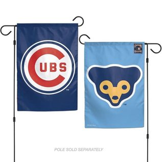 WinCraft, Inc. Chicago Cubs 2 Sided Garden Flag