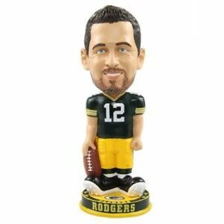 Forever Collectibles Green Bay Packers Rodgers Knucklehead Bobblehead