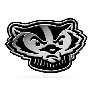 Rico Industries, Inc. Wisconsin Badgers Molded Emblem
