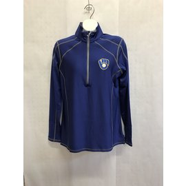 Milwaukee Brewers Women's Tempo 1/4 Zip