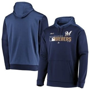 Milwaukee Brewers Men's Onfield Team Distinction Hoodie