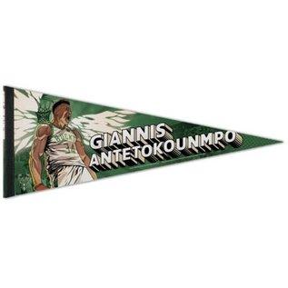 Milwaukee Bucks Giannis Pennant