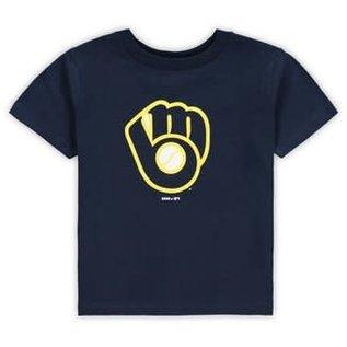 Milwaukee Brewers Youth Primary Logo Short Sleeve Tee