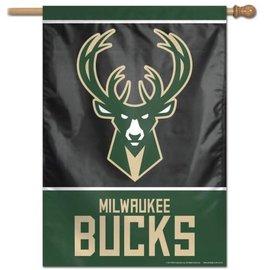 WinCraft, Inc. Milwaukee Bucks 28x40 Banner Flag
