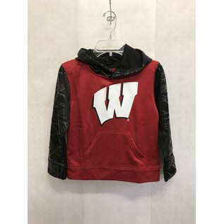 Wisconsin Badgers Youth Performance Fleece Hoodie