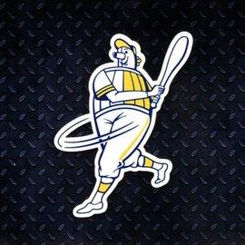 Milwaukee Brewers Barrelman Magnet