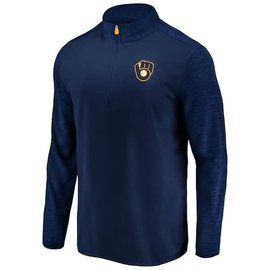 Milwaukee Brewers Men's Practice Makes Perfect 1/4 Zip