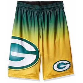 Green Bay Packers Men's Gradient Big Logo Shorts