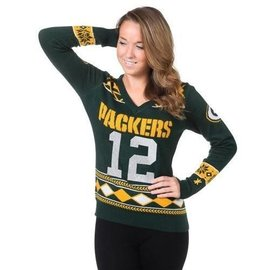 Forever Collectibles Green Bay Packers Aaron Rodgers Sweater
