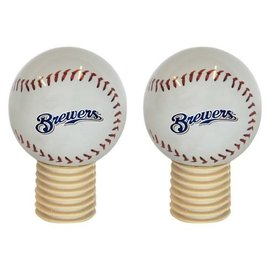 Boelter Brands LLC Milwaukee Brewers Bottle Stopper