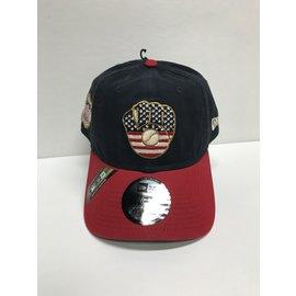 Milwaukee Brewers 9-20 2019 4th of July Adjustable Hat