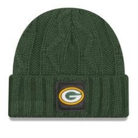New Era Green Bay Packers Team Ohana 2 Cuffed Knit Hat