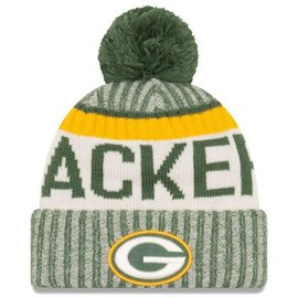 New Era Green Bay Packers 17 Onfield Knit Hat - Team Color