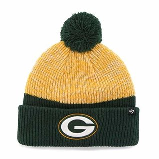 '47 Brand Green Bay Packers Backdrop Cuffed Knit Hat