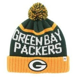 '47 Brand Green Bay Packers Linesman Cuffed Knit Hat