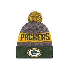 New Era Green Bay Packers 16 Sport Cuffed Knit Hat