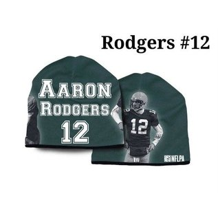 Green Bay Packers Aaron Rodgers Silky Beanie Hat