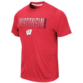 Colosseum Wisconsin Badgers Men's Hamilton Short Sleeve Tee