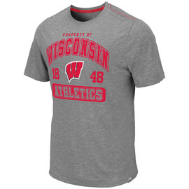 Colosseum Wisconsin Badgers Men's Campinas Short Sleeve Tee