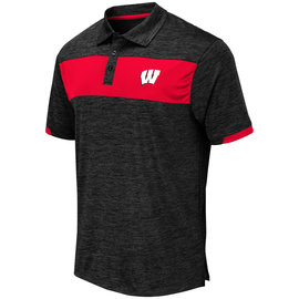 Wisconsin Badgers Men's Nelson Polo