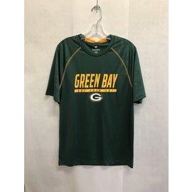Green Bay Packers Men's Defender Mission Short Sleeve Tee