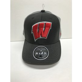 Wisconsin Badgers ZH Swell Fitted Hat